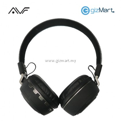 AVF HBT201 Mixx Wireless Stereo Headphone-Gold/Green/Grey