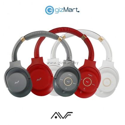 AVF HBT900 Mixx Wireless Stereo Extra Bass Headphone-Grey/Red/White