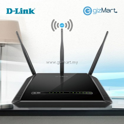 D-LINK DSL-2888A Dual Band Wireless AC1600 Gigabit ADSL2+/VDSL2 Modem Router