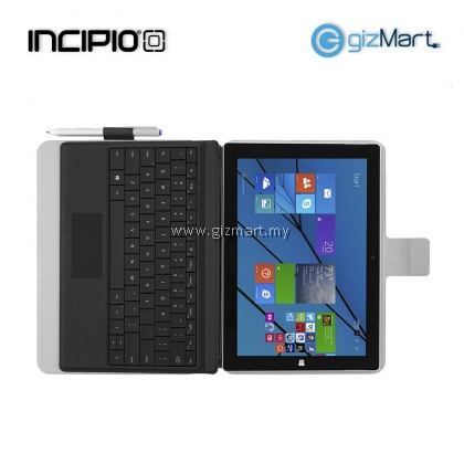 INCIPIO Roosevelt Folio Case For Surface 3 - Black