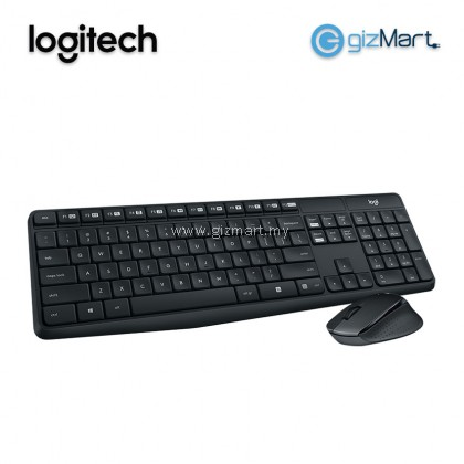 LOGITECH MK315 Quite Wireless Keyboard and Mouse Combo