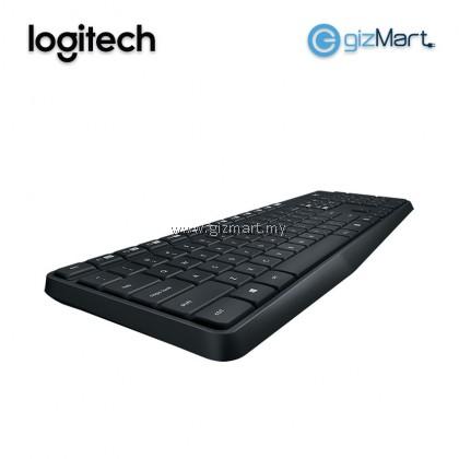 Logitech MK315 Quiet Wireless Combo Keyboard + Mouse (920-009068)