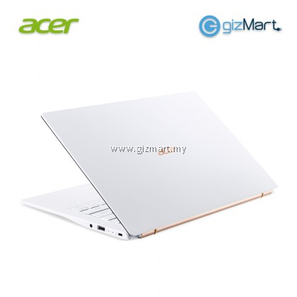 "ACER Swift 5 SF514-54T-50GD 14"" Laptop-MoonStone White (i5-1035G1, 8GB, 512GB, Pre-installed Microsoft Office Home & Student, Win10)"
