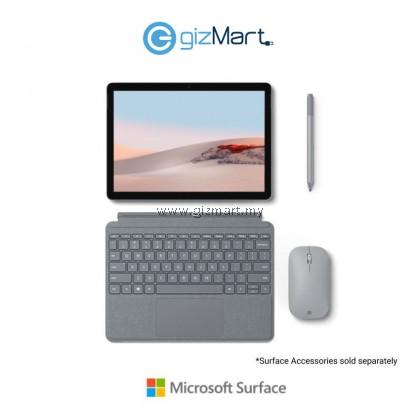 Microsoft Surface Go 2 (Intel Pentium Gold, 8GB, 128GB, Win10 S Mode, Platinum) + Type Cover