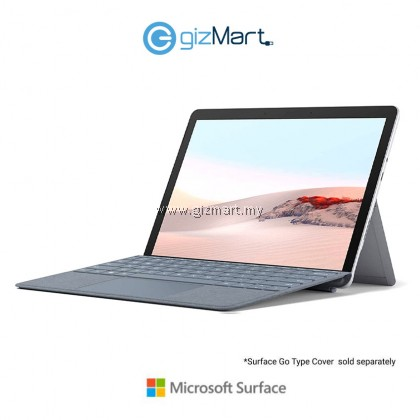 Microsoft Surface Go 2 (Intel Core m3, 8GB, 128GB, LTE, Win10 S Mode, Platinum) + Type Cover