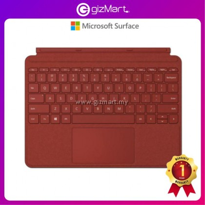 Microsoft Surface Go Signature Type Cover (Poppy Red KCS-00098 / Ice Blue KCS-00119 / Light Charcoal KCS-00140)