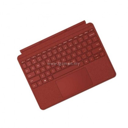 Microsoft Surface Go Signature Type Cover (Poppy Red KCS-00098 / Ice Blue KCS-00119 / Light Charcoal KCS-00140) for Surface Go / Surface Go 2 / Surface Go 3