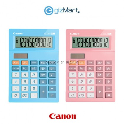 Canon AS120V Calculator - A touch of vivid color to your desktop
