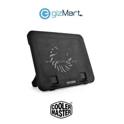 """Cooler Master Notepal i200 Silent 140mm Fan Ergonomic Mesh USB 2.0 Notebook Cooler for up to 15.6"""" Laptop (R9-NBC-I2HK-GP)"""