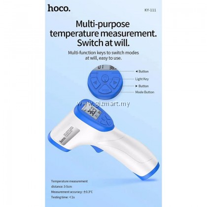 HOCO KY-111 NON-CONTACT SURFACE INFRARED THERMOMETER