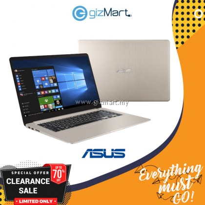 Asus Vivobook A510U-NEJ353T Notebook Gold (15.6inch/Intel I5/4GB/1TB/MX150 2GB)