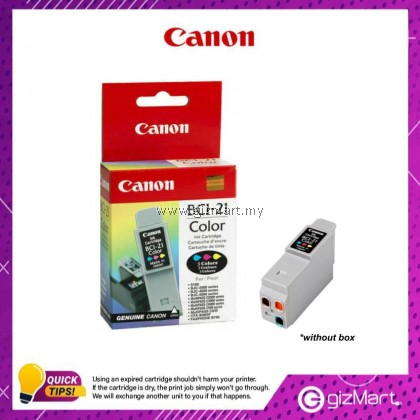 (New Sealed Expired) Canon Ink Cartridge BCI-21C Color
