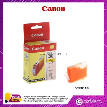 (New Sealed Expired) Canon Ink Cartridge BCI-3eY Yellow Ink Tank