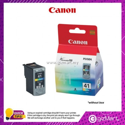 (New Sealed Expired) Canon Ink Cartridge CL-41 Color