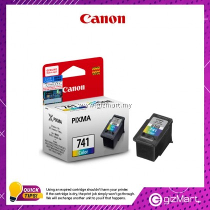 (New Sealed Expired) Canon Ink Cartridge CL-741 Color