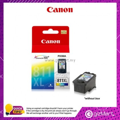 (New Sealed Expired) Canon Ink Cartridge CL-811XL Color