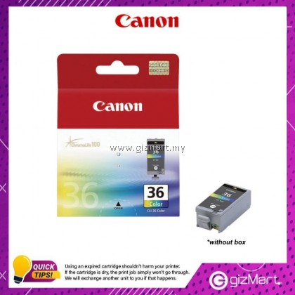 (New Sealed Expired) Canon Ink Cartridge CLI-36 Color