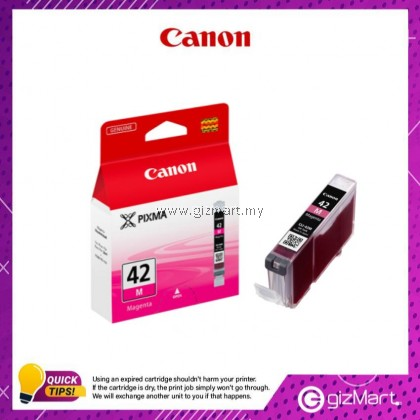 (New Sealed Expired) Canon Ink Cartridge CLI-42M Magenta