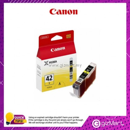 (New Sealed Expired) Canon Ink Cartridge CLI-42Y Yellow
