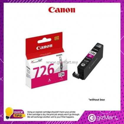 (New Sealed Expired) Canon Ink Cartridge CLI-726M Magenta
