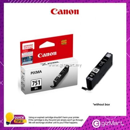 (New Sealed Expired) Canon Ink Cartridge CLI-751BK Black