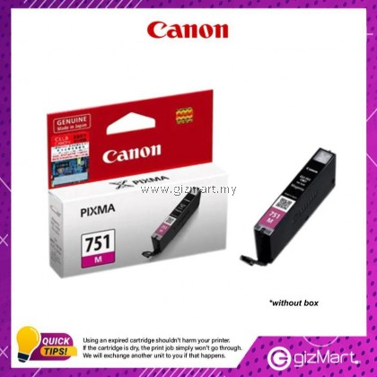 (New Sealed Expired) Canon Ink Cartridge CLI-751M Magenta