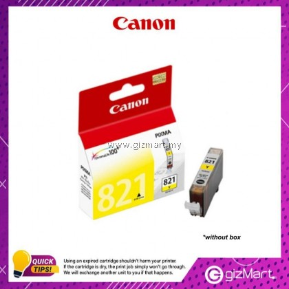 (New Sealed Expired) Canon Ink Cartridge CLI-821Y Yellow