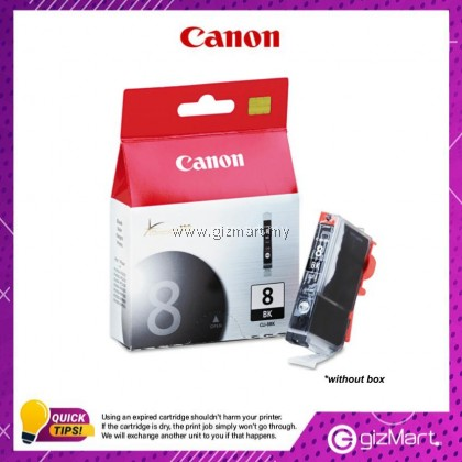 (New Sealed Expired) Canon Ink Cartridge CLI-8BK Black