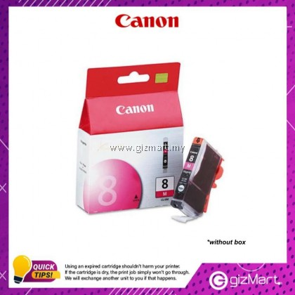 (New Sealed Expired) Canon Ink Cartridge CLI-8M Magenta