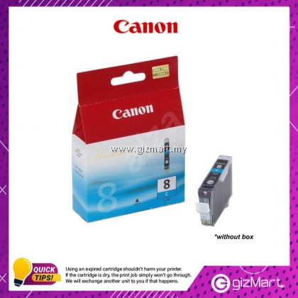 (New Sealed Expired) Canon Ink Cartridge CLI-8PC Light Cyan