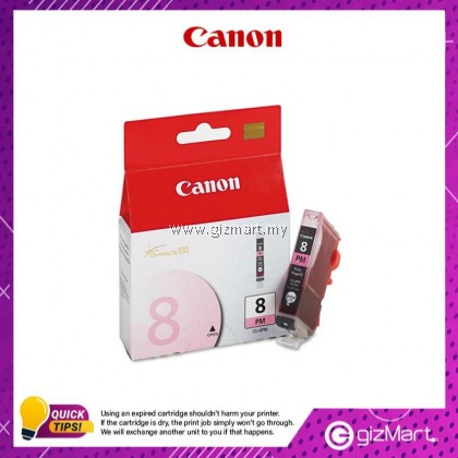 (New Sealed Expired) Canon Ink Cartridge CLI-8PM Light Magenta