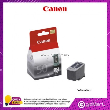 (New Sealed Expired) Canon Ink Cartridge PG-50 Black