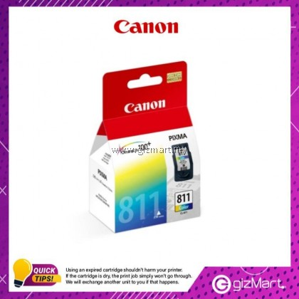 (New Sealed Expired) Canon Ink Cartridge CL-811 Color