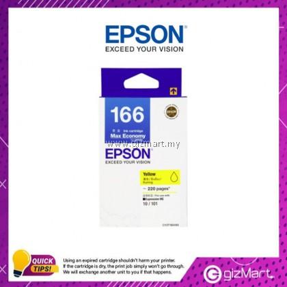 (New Sealed Expired) Epson Ink Cartridge 166 Yellow