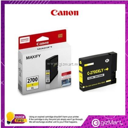 (New Sealed Expired) Canon Ink Cartridge Maxify PGI-2700XL Yellow