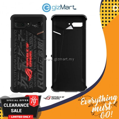 Original ASUS ROG Phone 2 Lighting Armor Case (90AC03Q0-BCS001)