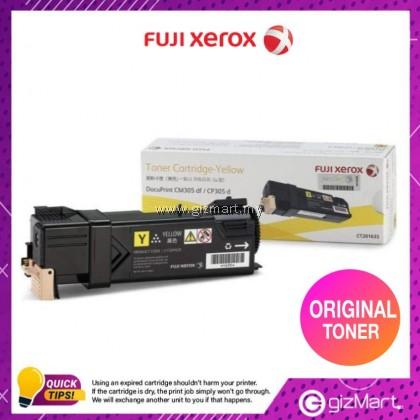 (New Sealed Expired) Original FUJI XEROX DPCP305/CM305DF TONER CARTRIDGE(K)-YELLOW