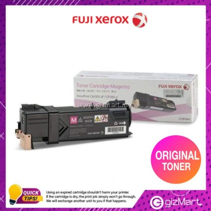 (New Sealed Expired) FUJI XEROX DPCP305/CM305DF TONER CARTRIDGE(K)-MAGENTA