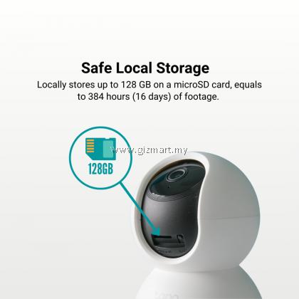 TP-Link Tapo C200 1080P Full HD Pan Tilt 360 Wireless Wifi Home Security Surveillance IP Camera