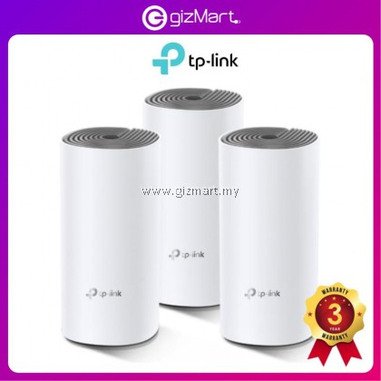 [Entry Level] TP-Link Deco E4 (3-Pack) - AC1200 Whole Home Mesh Wifi System - Support Unifi
