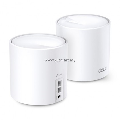 TP-Link Deco X20 (2-Pack) WIFI 6 AX1800 Gigabit Whole Home Mesh WiFi Wireless Router Wi-Fi System TP-Link Deco X20 2 PACK
