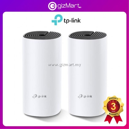TP-LINK DECO M4 - AC1200 WHOLE HOME MESH WIFI WIRELESS SYSTEM (2 PACKS)