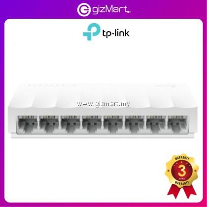 Tp-Link LS1008 LiteWave 8-Port10/100Mbps Desktop Network Switch