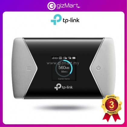 TP-LINK M7650 - 600Mbps LTE Advanced Mobile WiFi Wireless router / Mobile Router for Travel Use / Compact Size