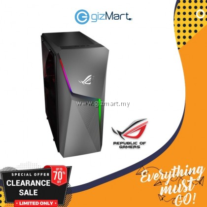 ASUS ROG Strix GL10C-SMY029T Gaming Desktop PC (i7-9700K, 1TB+256GB, 8GB, GTX1660Ti, Win10)