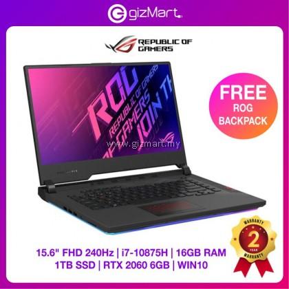 "ASUS ROG Strix Scar 15 G532L-VAZ069T 15.6"" 240Hz Gaming Laptop (i7-10875H, 16GB, 1TB, RTX2060, Win10)"