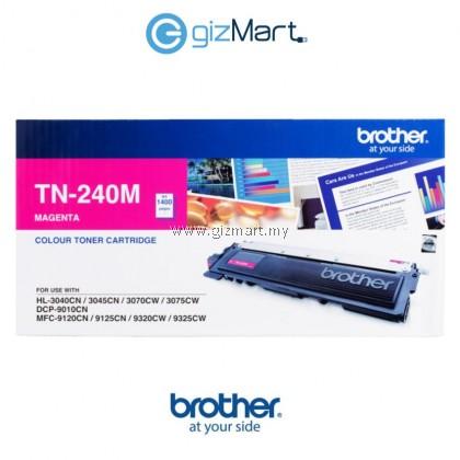 Brother TN-240 Original Toner Cartridge Cyan/Magenta/Yellow for DCP-9010CN; HL-3040CN, 3045CN, 3070CW; MFC-9120CN, 9125CN, 9320CW, 9325CW