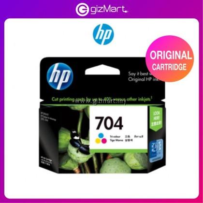 HP Ink Cartridge 704 Tri Color ( CN693AA ) for HP Printer 2010/2060/K010/K110