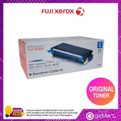 (New Sealed Expired) Original FUJI XEROX CT350568 DocuPrint C3290fs Cyan Toner Cartridge