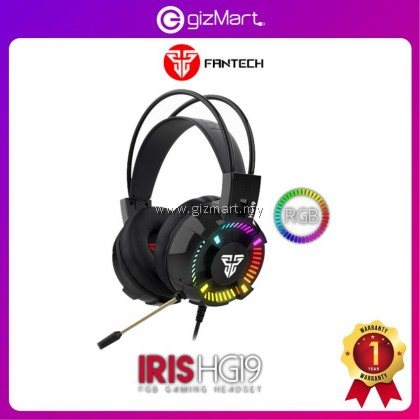 Fantech Iris HG19 Wired RGB 5.1 Gaming Headphone